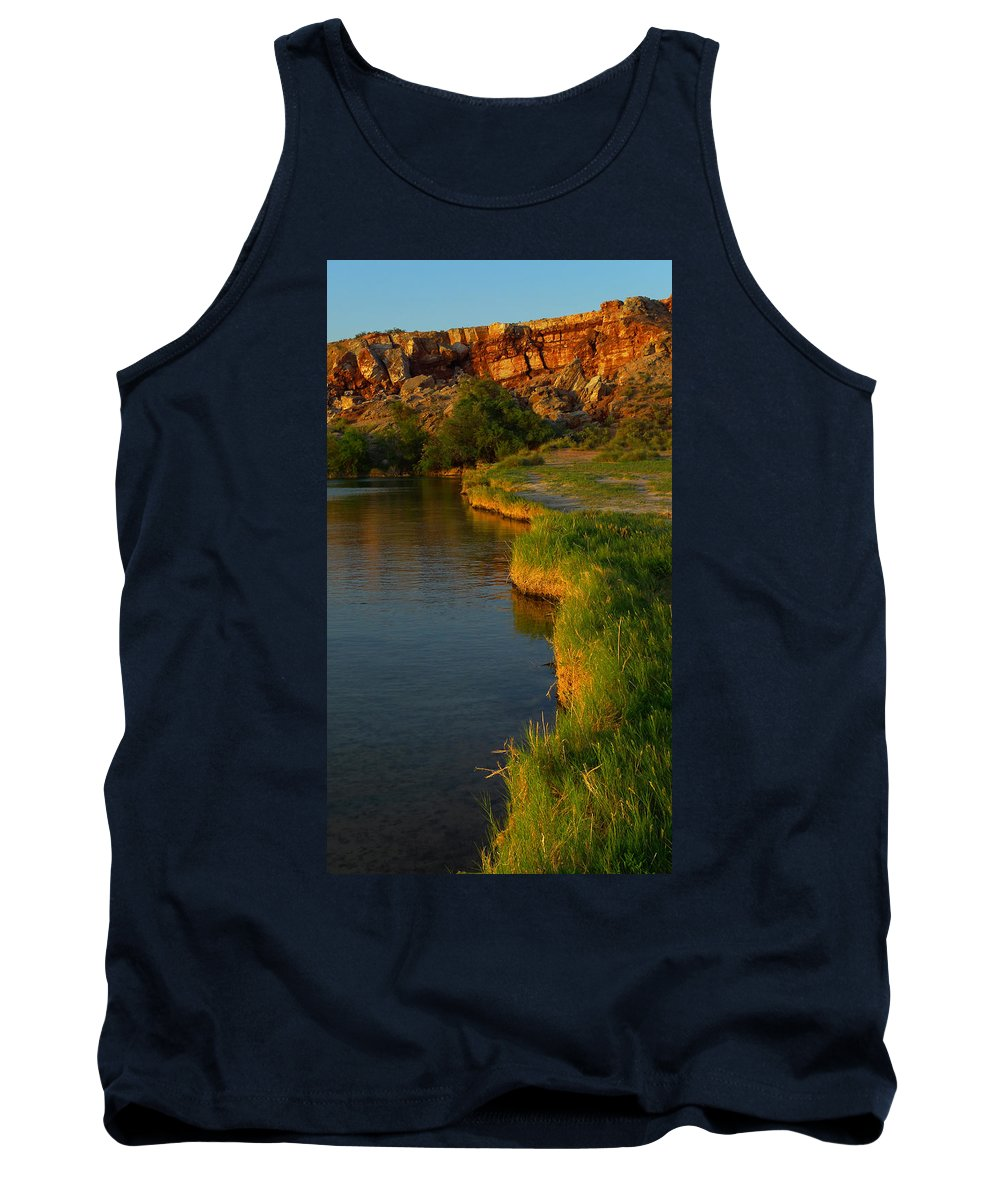 Skip Hunt Tank Top featuring the photograph The Edge by Skip Hunt