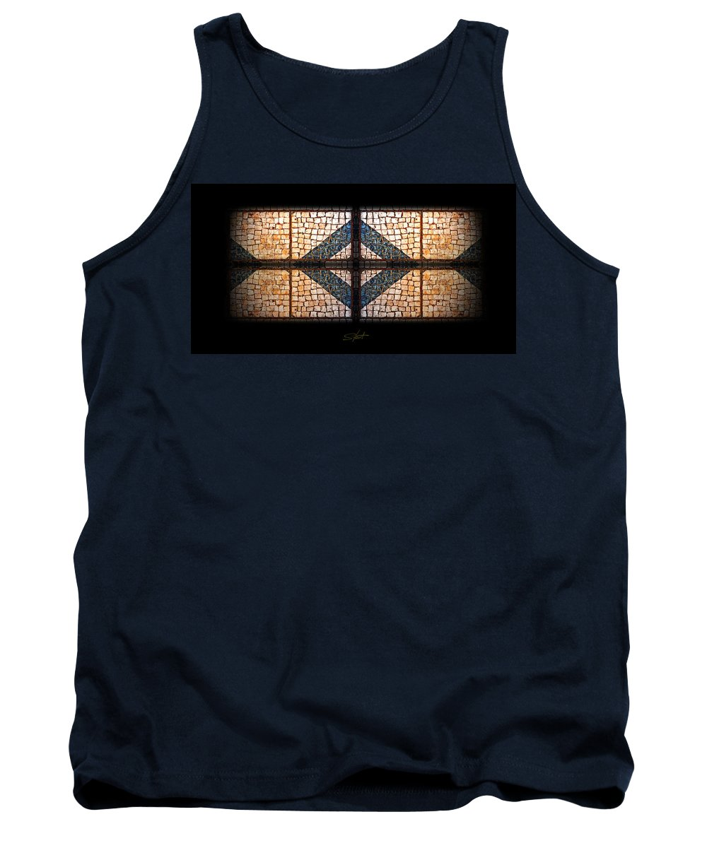 Tifany Tank Top featuring the photograph Tiffany Sidewalk by Charles Stuart