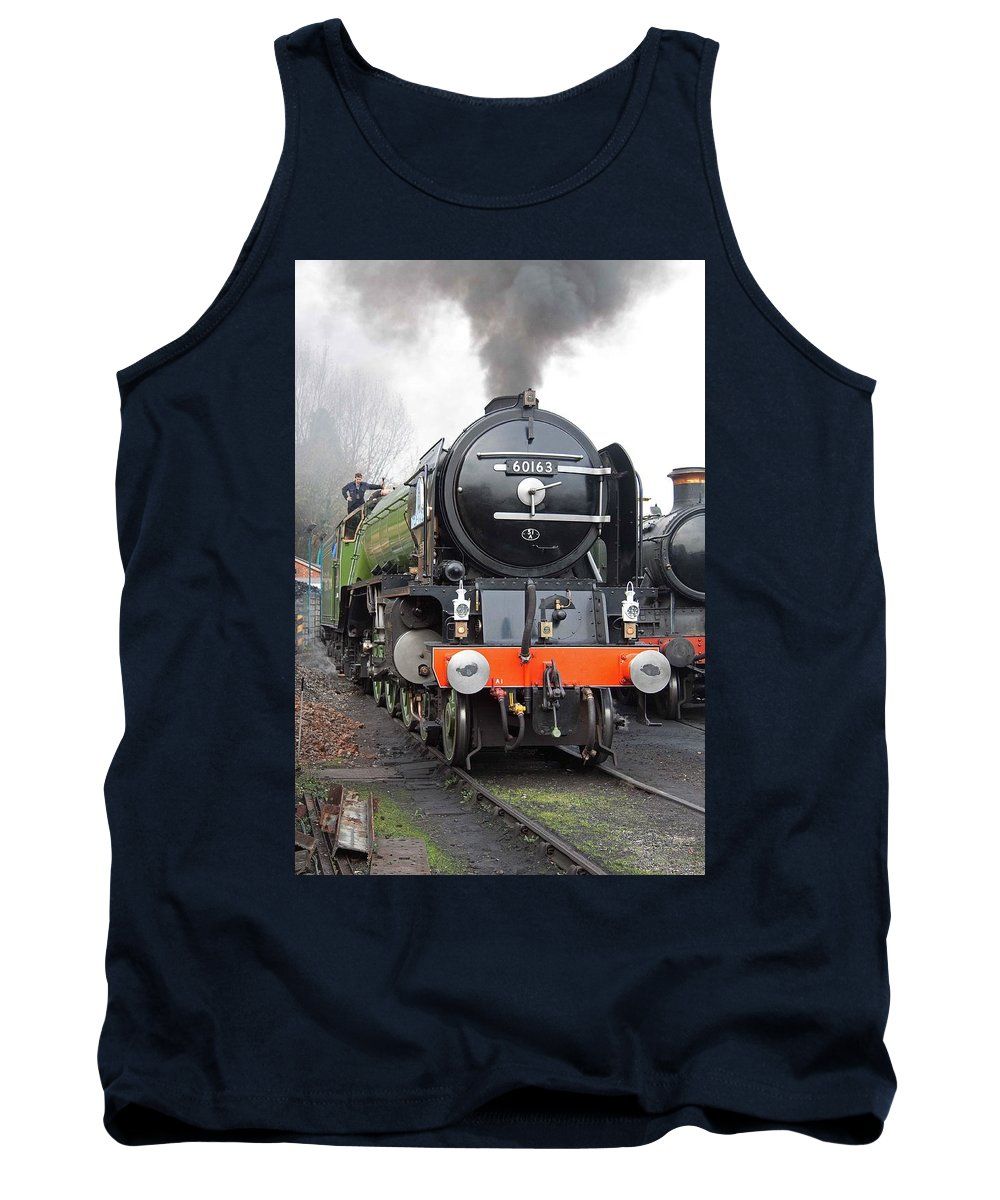 Steam Tank Top featuring the photograph Tornado Living Steam by Bob Kemp