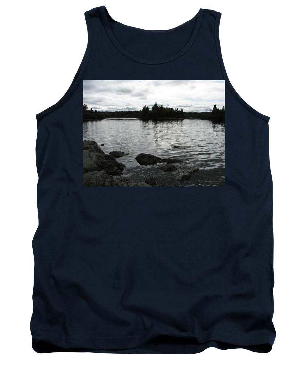 Water Tank Top featuring the photograph Tranquility by Kelly Mezzapelle