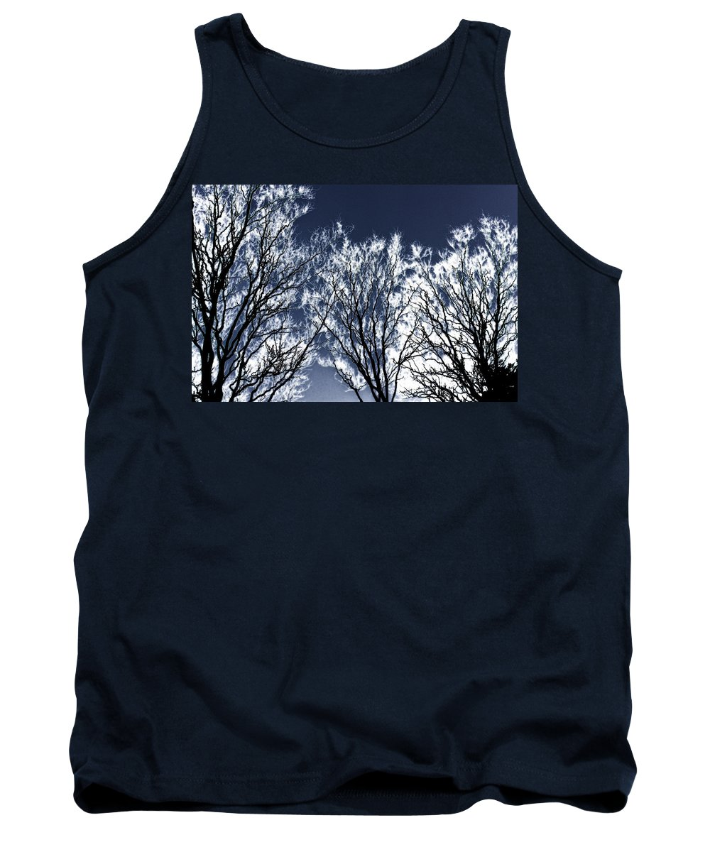 Scenic Tank Top featuring the photograph Tree Fantasy 2 by Lee Santa