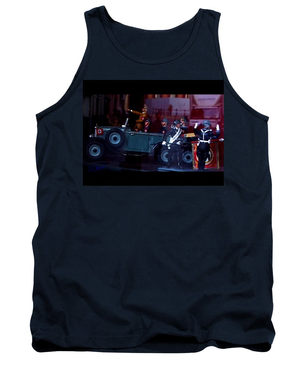 Dream Tank Top featuring the photograph Triumph In Miniture by Charles Stuart