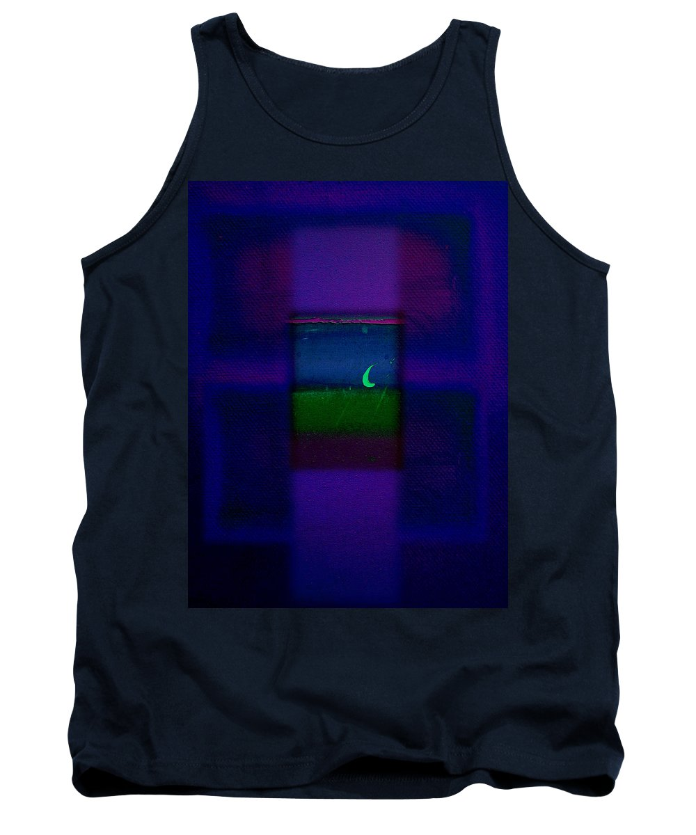 Rothko Tank Top featuring the painting True Love by Charles Stuart