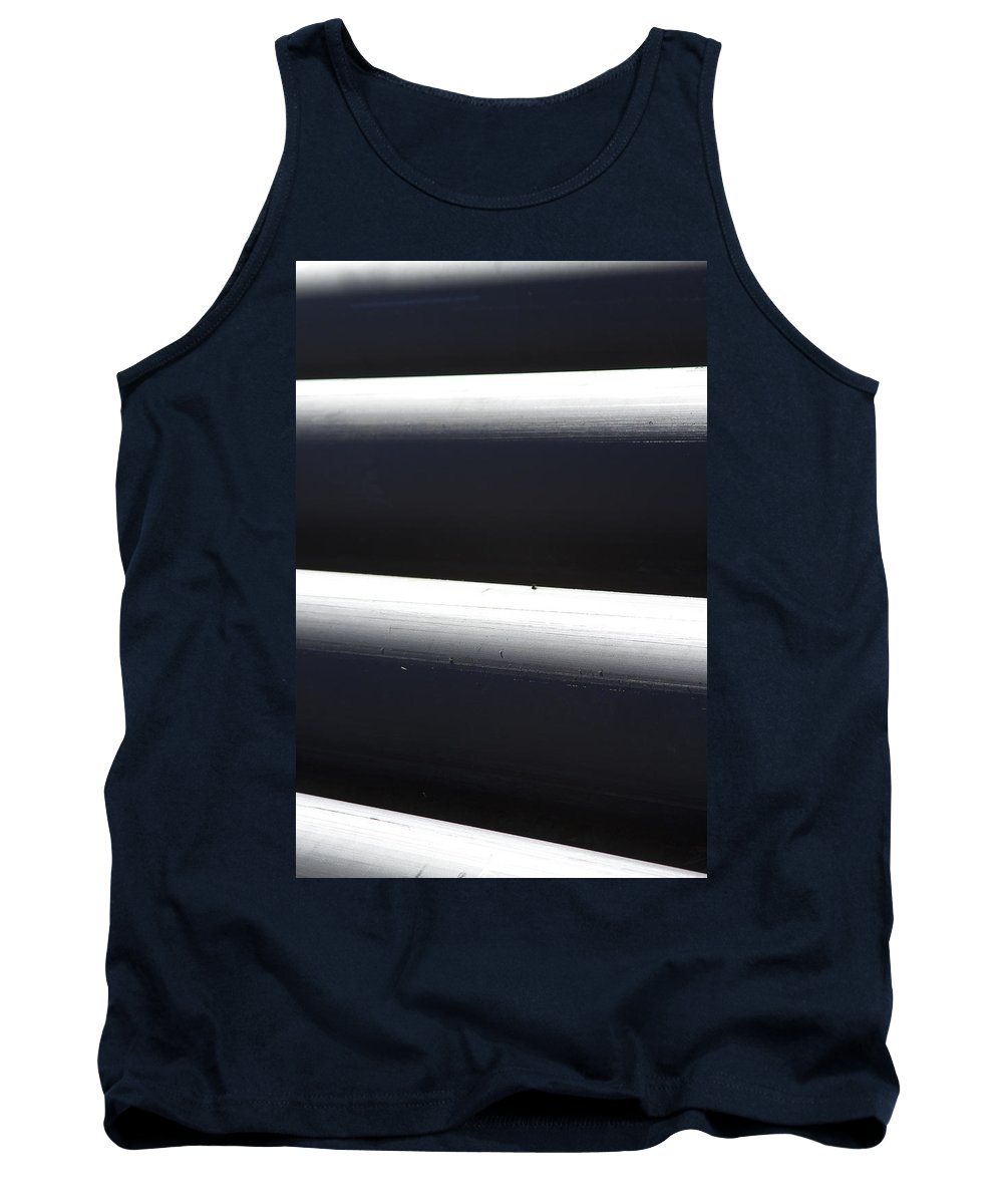 Tubes Tank Top featuring the photograph Tubular Shadow And Light Number 3 by James BO Insogna