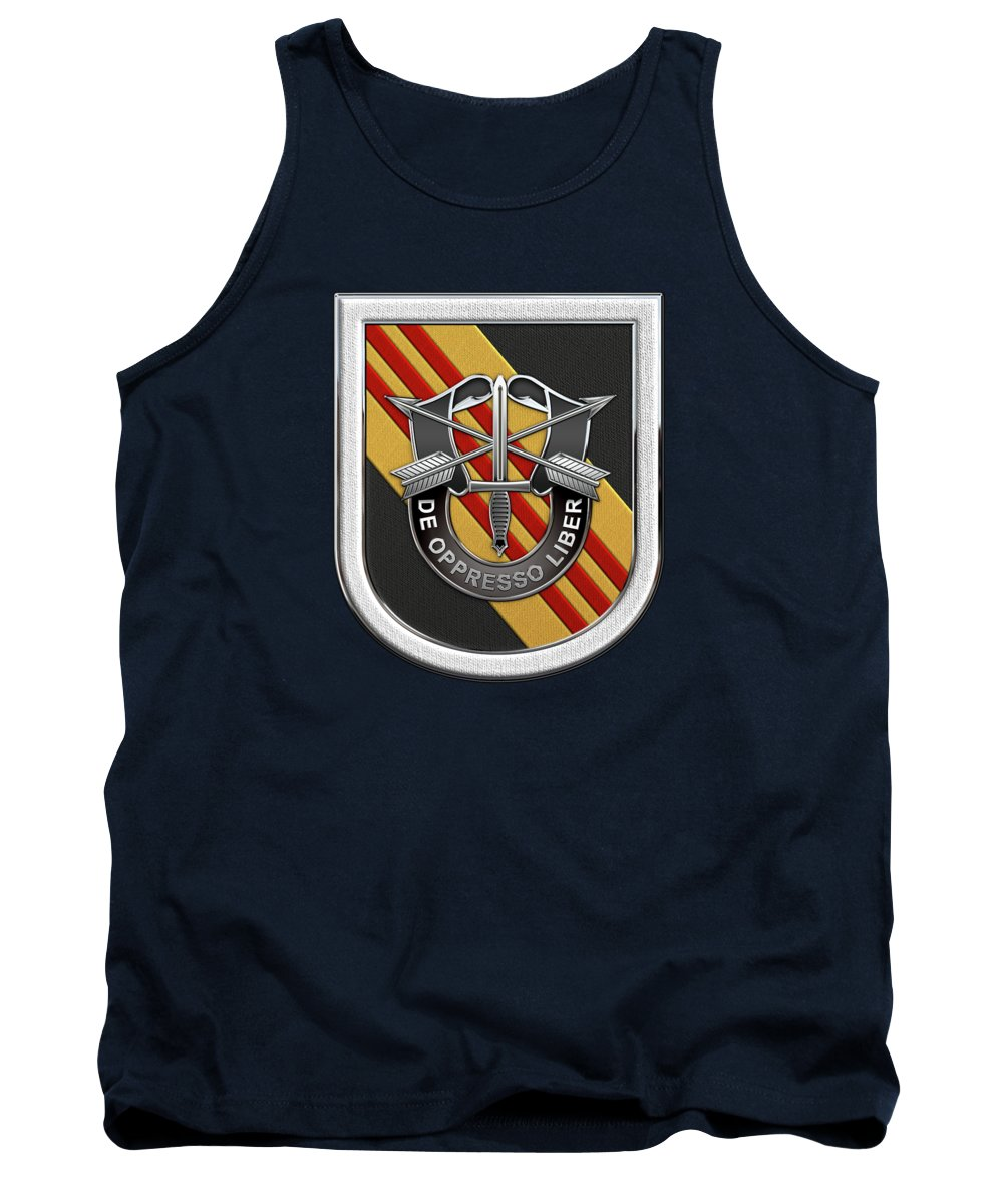 5abe3afabfcef  u.s. Army Special Forces  Collection By Serge Averbukh Tank Top featuring  the digital art