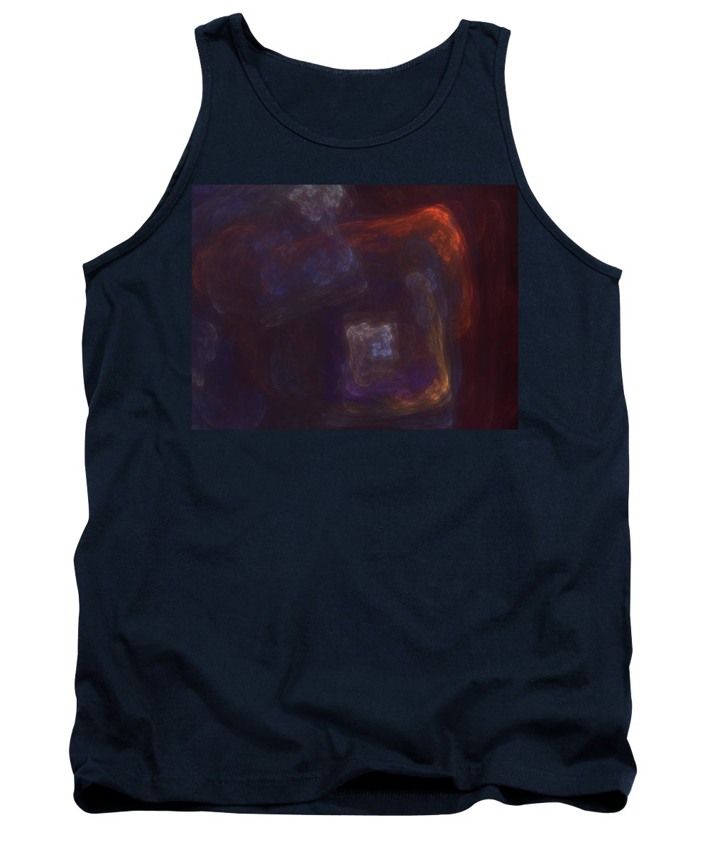Fantasy Tank Top featuring the digital art Untitled 01-12-10-a by David Lane