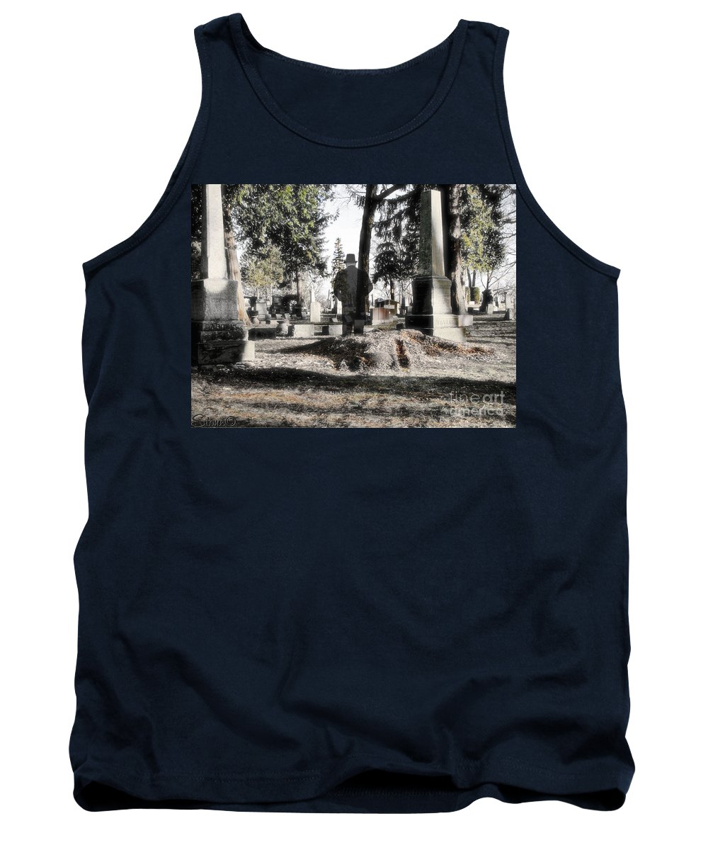 Spirit Tank Top featuring the photograph Unwilling To Go by September Stone