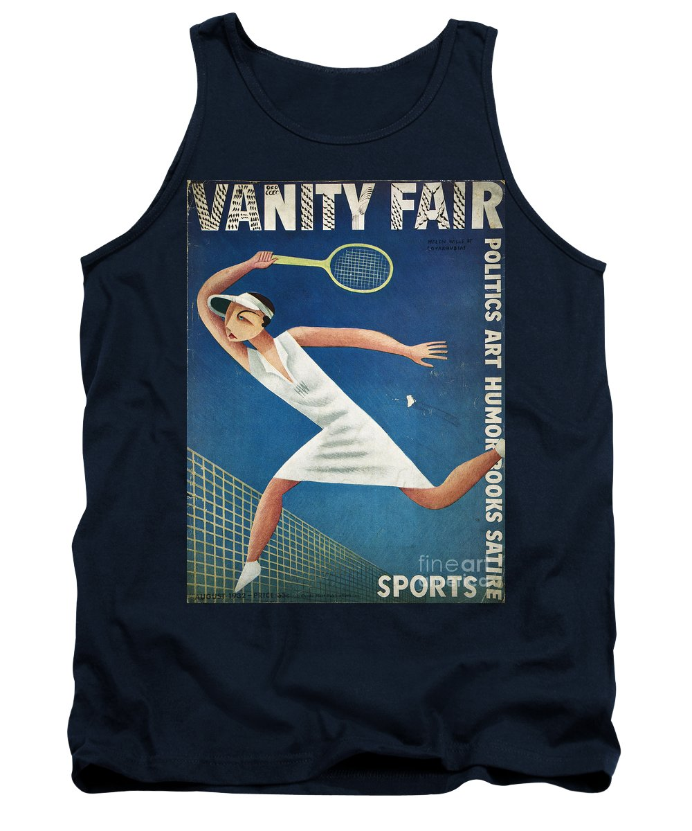 1932 Tank Top featuring the photograph Vanity Fair, 1932 by Granger