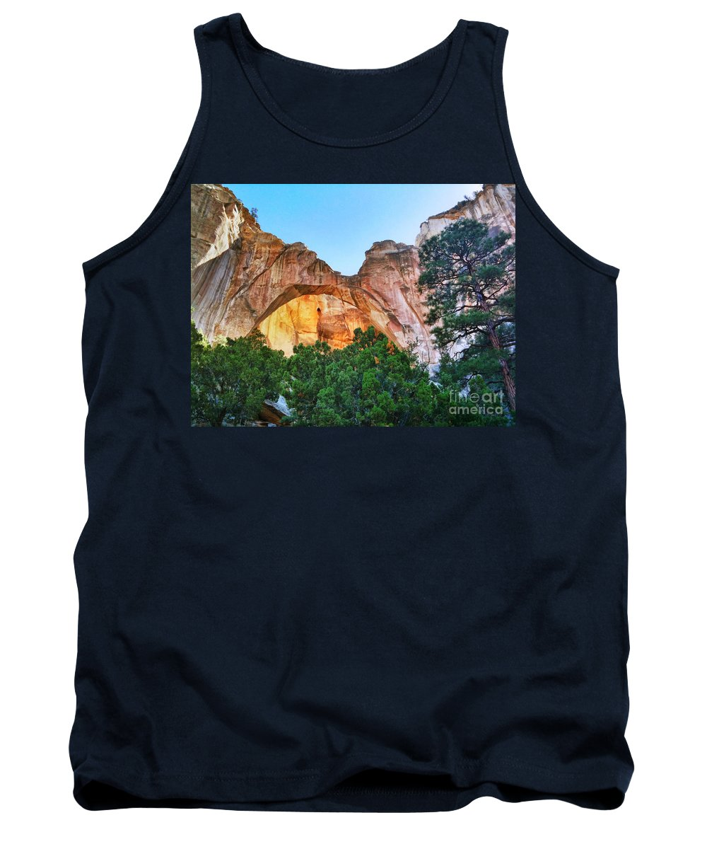 Iphoneography Tank Top featuring the photograph Ventana Arch by Matt Suess