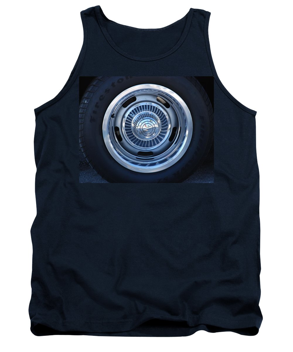 Corvette Tank Top featuring the photograph Vette Wheel by Rob Hans