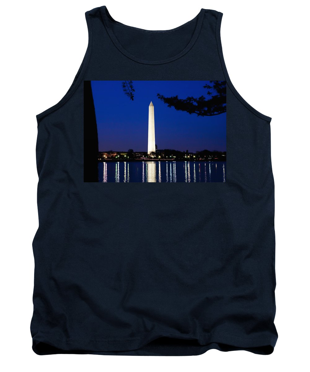 Landscape Tank Top featuring the photograph Washington Monument by John K Sampson