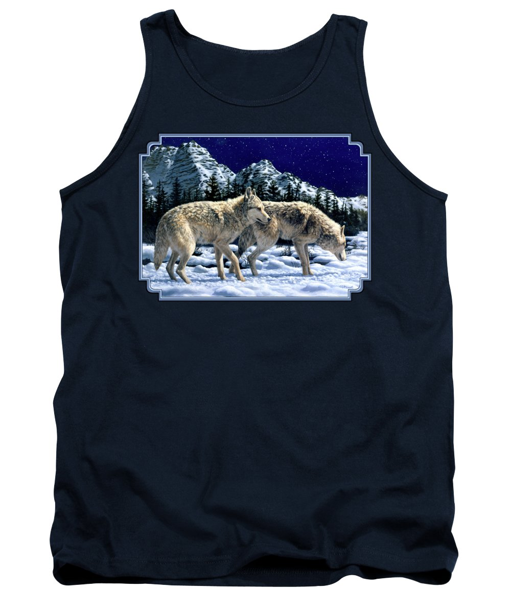 Wolves Tank Tops