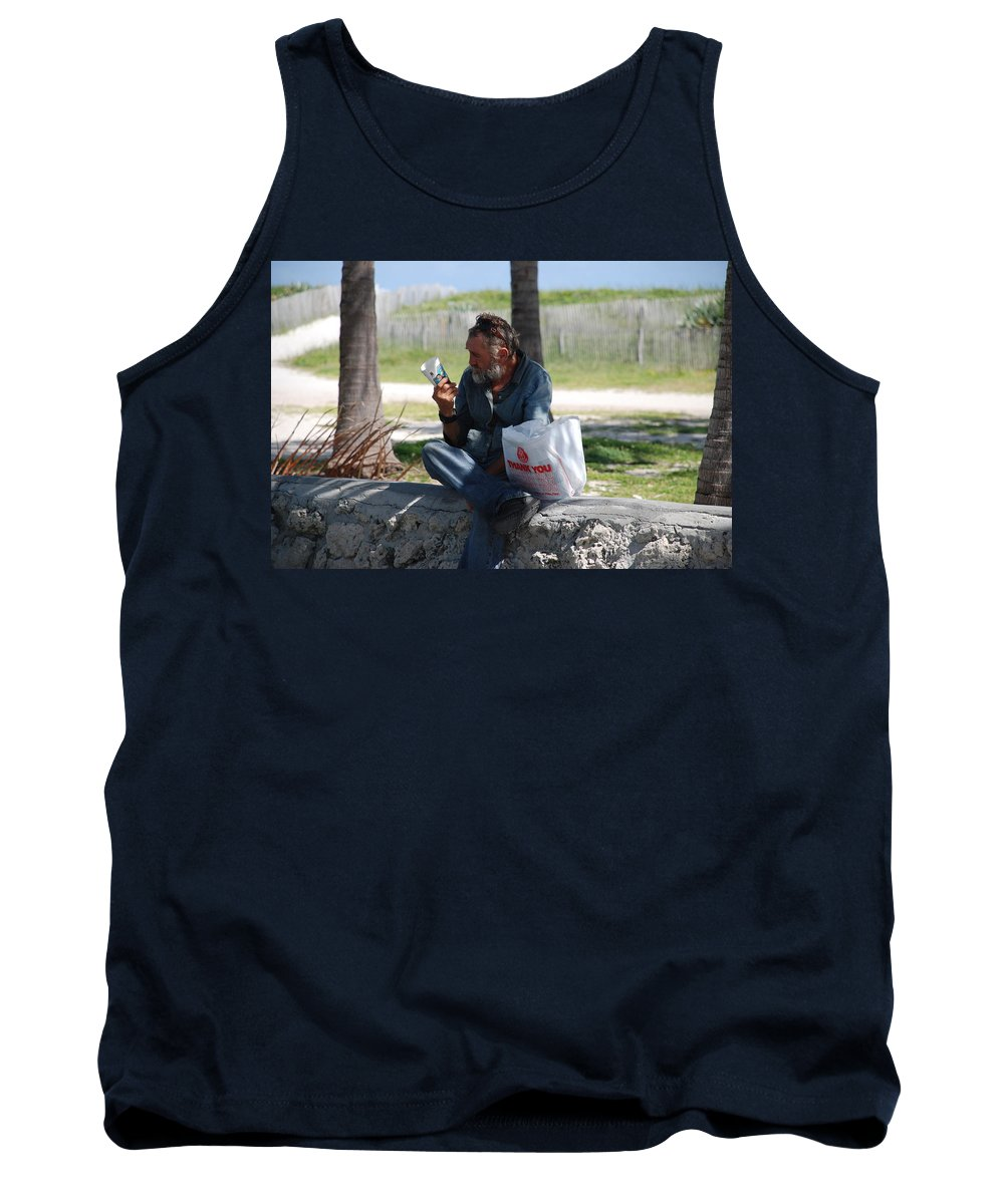 Man Tank Top featuring the photograph Worldly Posessions by Rob Hans