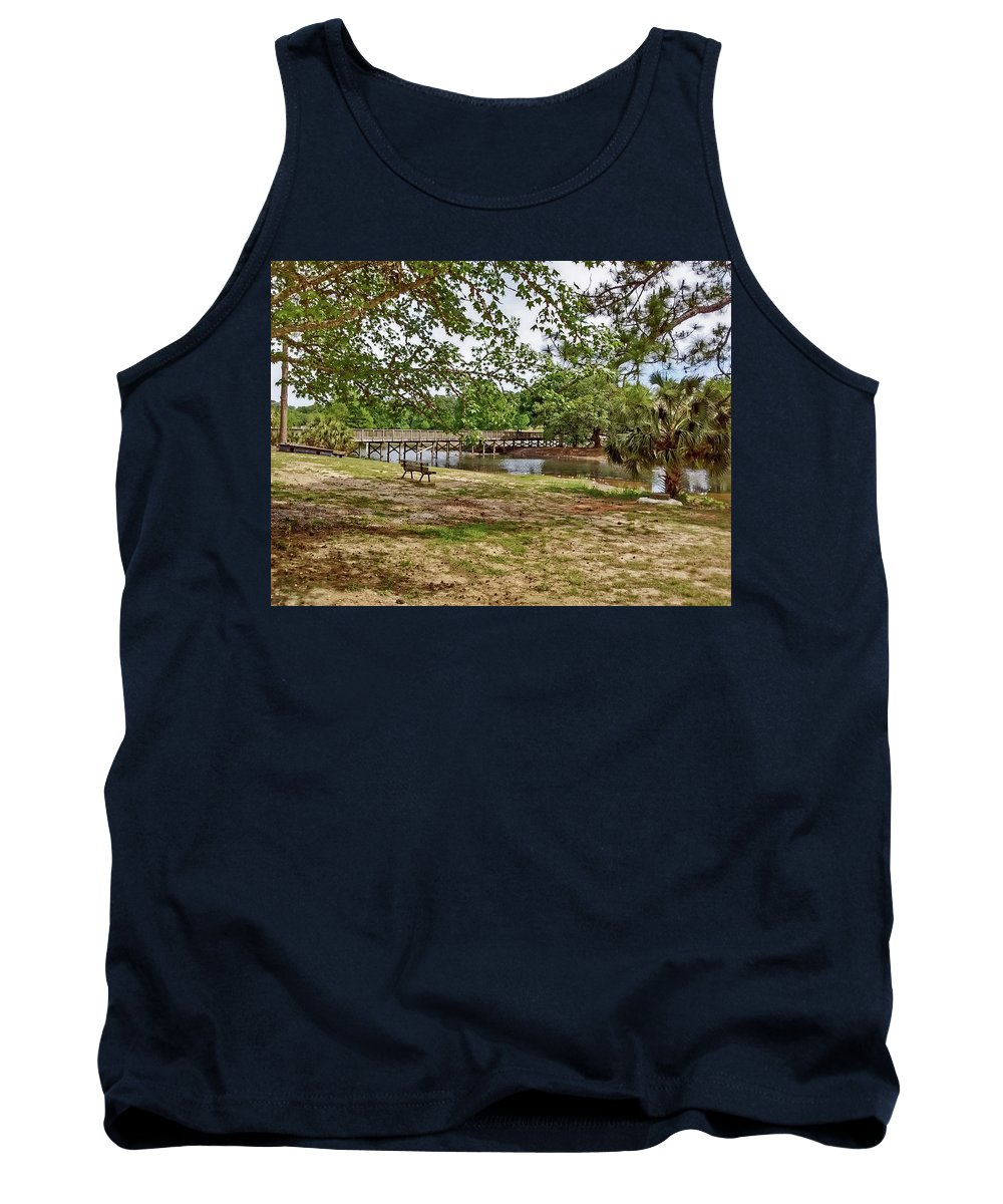 Langan Park Tank Top featuring the photograph Solitude by Marian Bell
