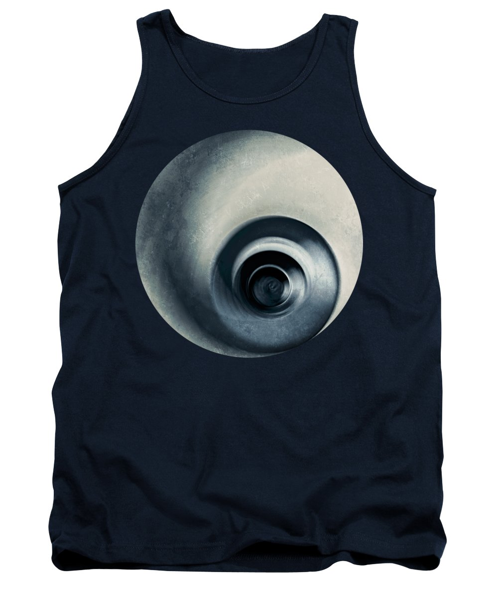 Spiral Staircase Photographs Tank Tops