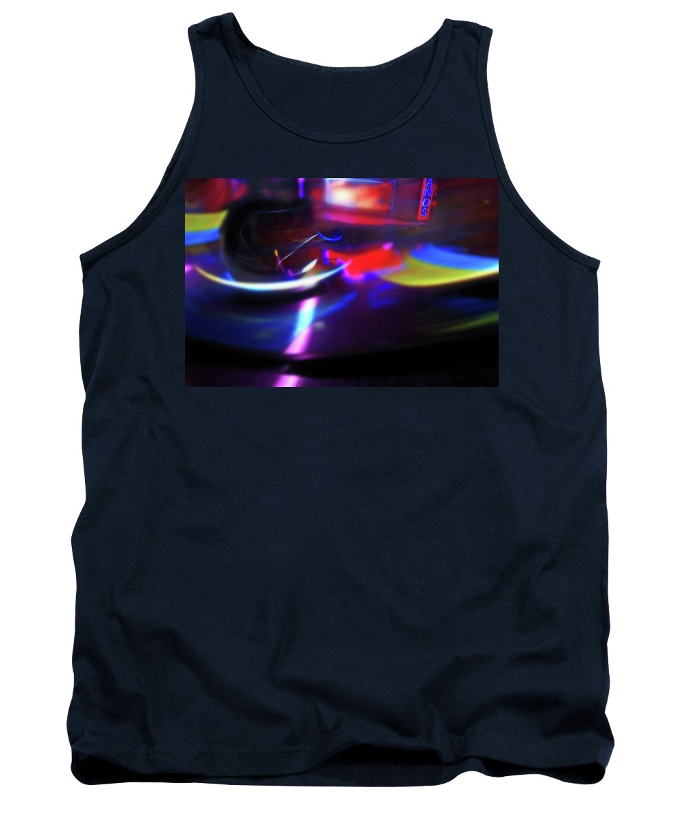Speeding Walzers Tank Top featuring the painting Thrill by Charles Stuart