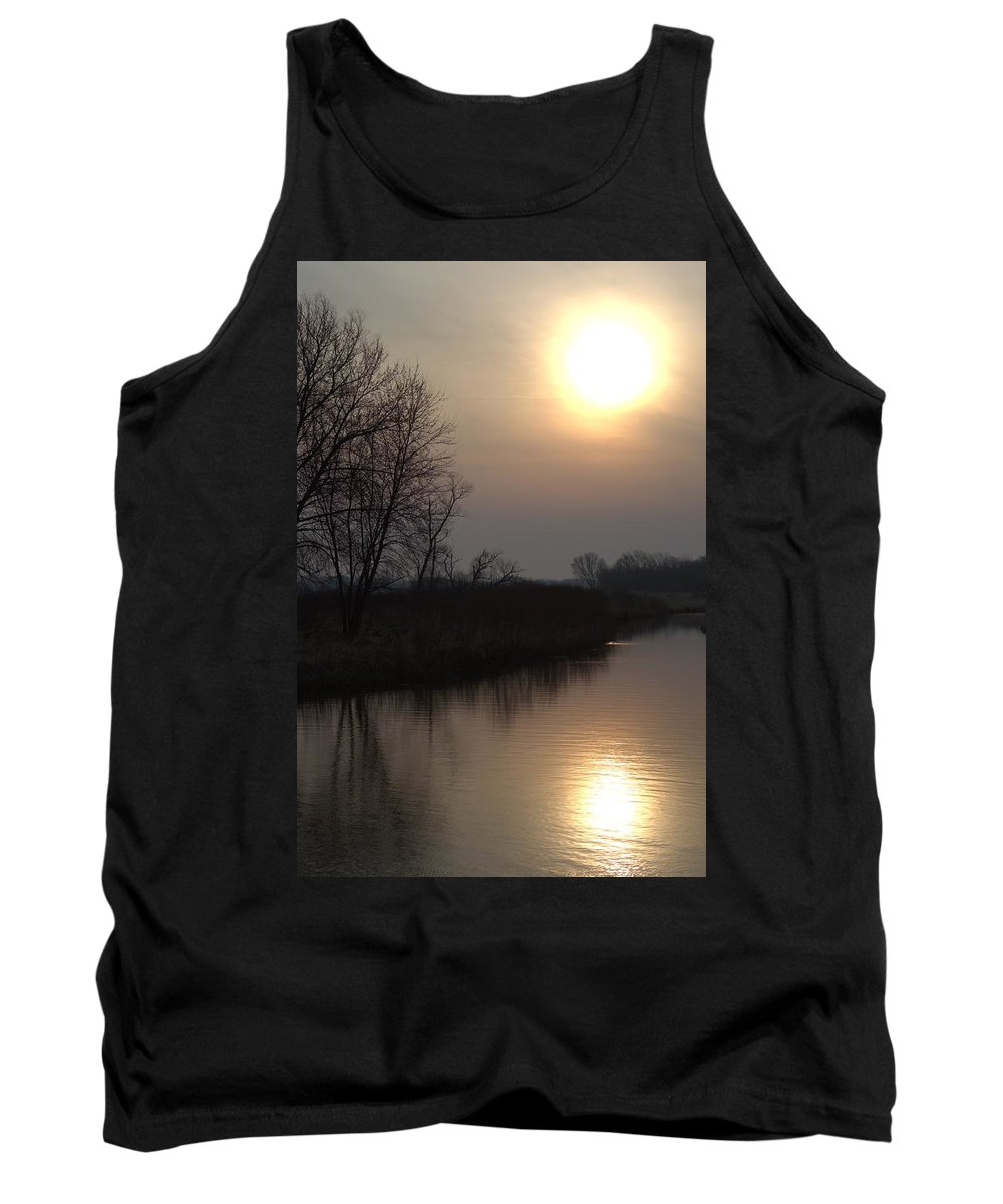 Sunrise Tank Top featuring the photograph Marsh Sunrise by Bonfire Photography
