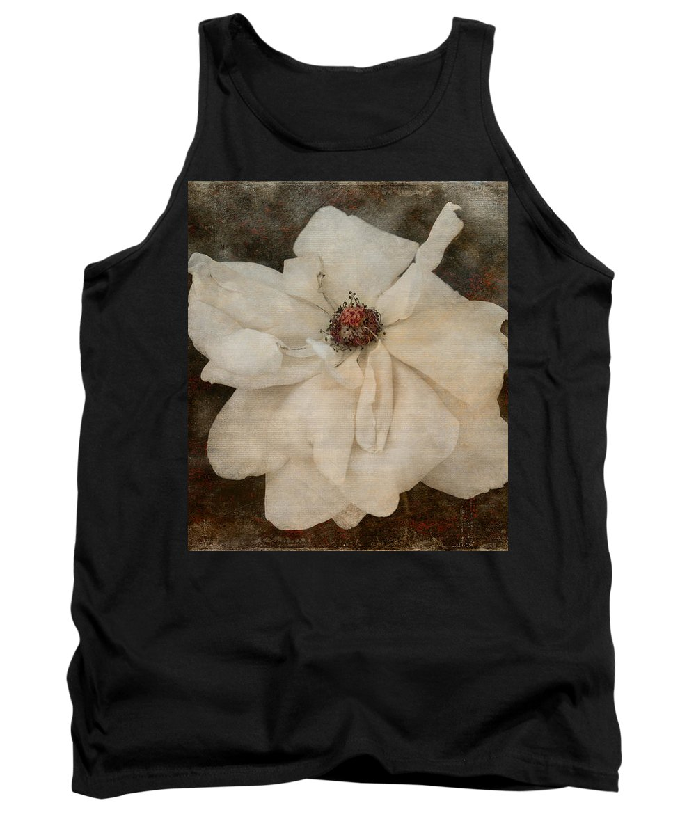 Loriental Tank Top featuring the photograph Perennial Gardens - Fall #02 by Loriental Photography
