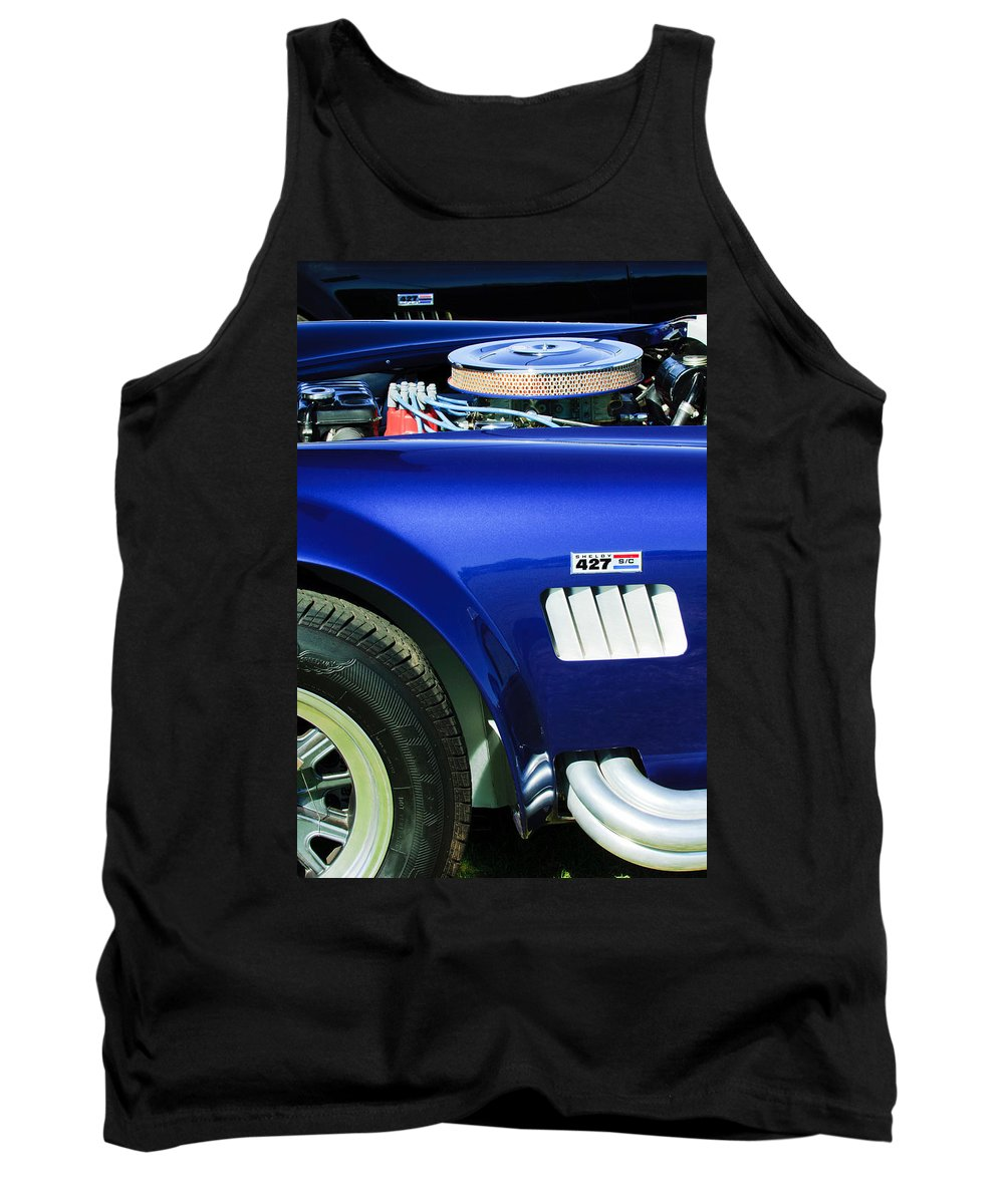Shelby Cobra 427 Engine Tank Top featuring the photograph Shelby Cobra 427 Engine by Jill Reger