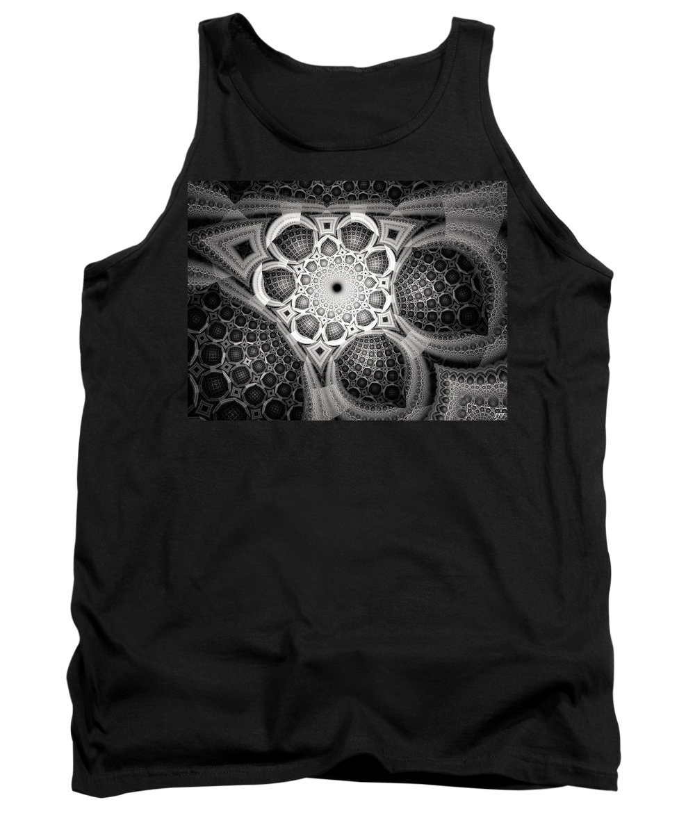 Still Life Tank Top featuring the painting 0062 by I J T Son Of Jesus