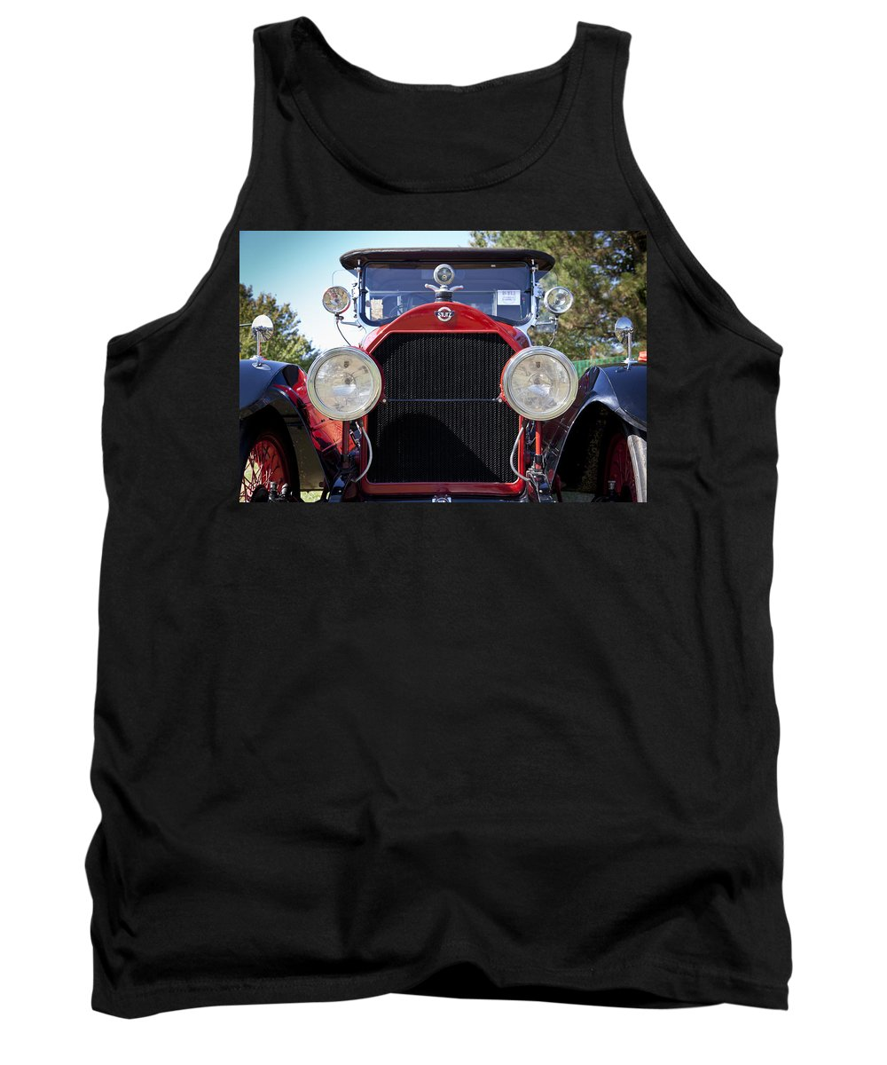 1922 Tank Top featuring the photograph 1922 Stutz by Jack R Perry