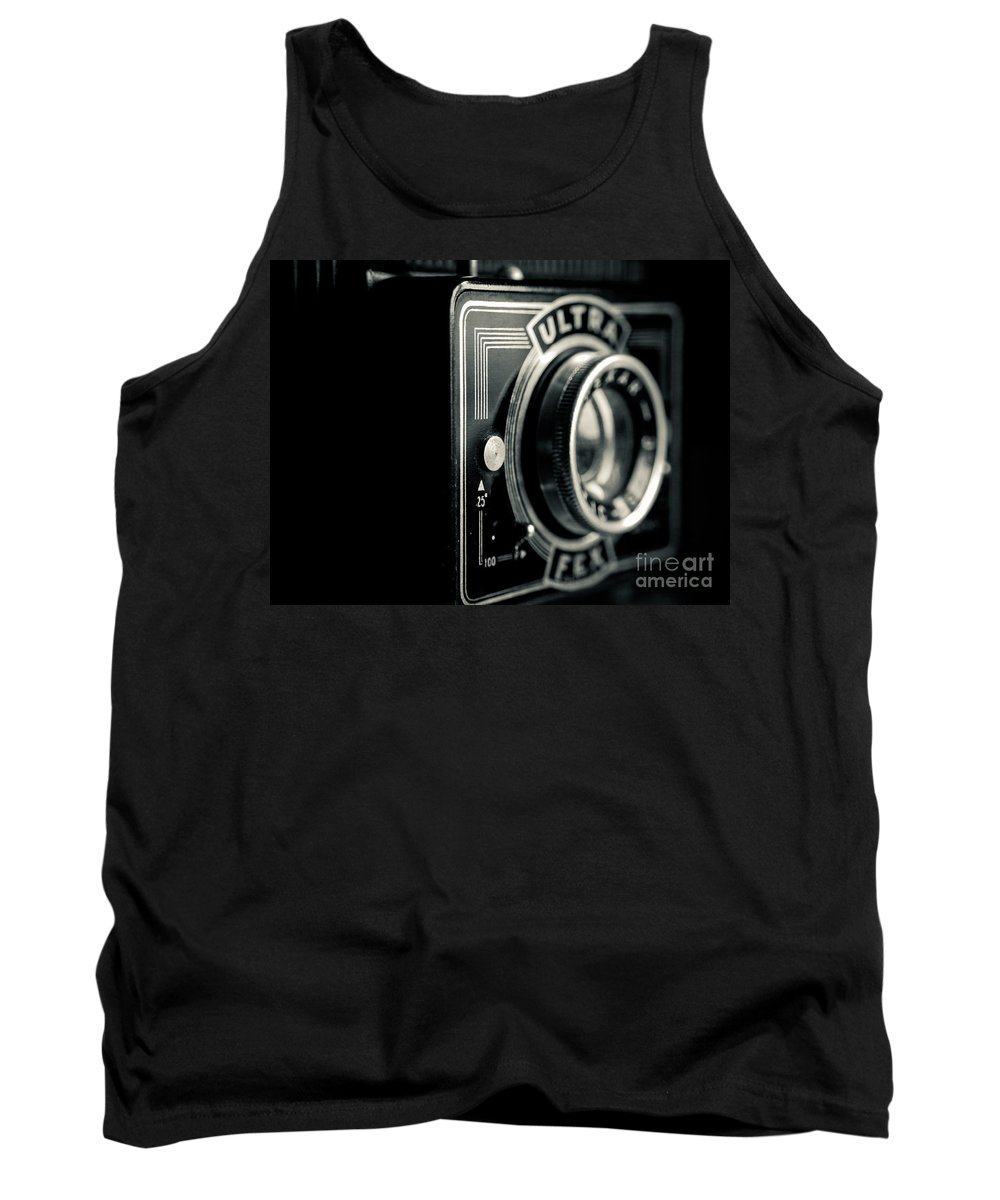Ultra Fex Tank Top featuring the photograph Bakelite Vintage Camera by Brothers Beerens