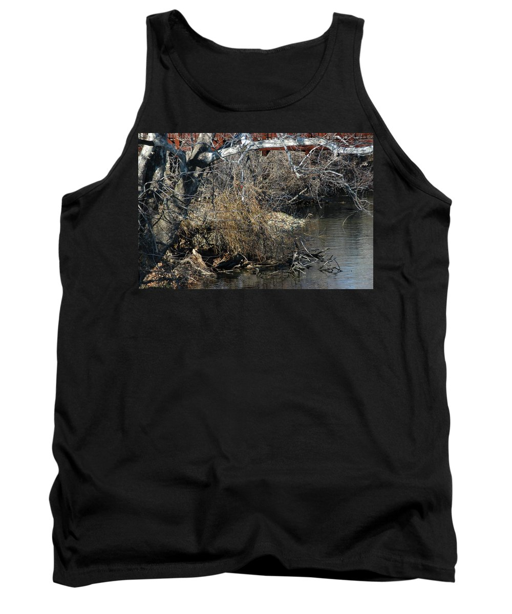 Grand River Tank Top featuring the photograph Bird by Joseph Yarbrough