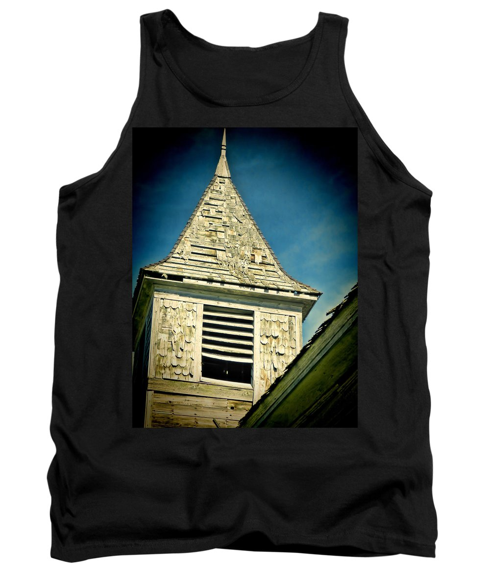 Church Steeple Tank Top featuring the photograph Church Steeple by Cathy Anderson