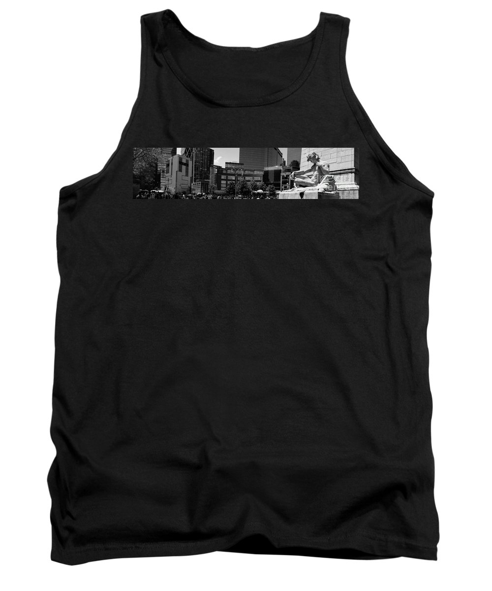 Angel Tank Top featuring the photograph Columbus Circle by Amy Cicconi