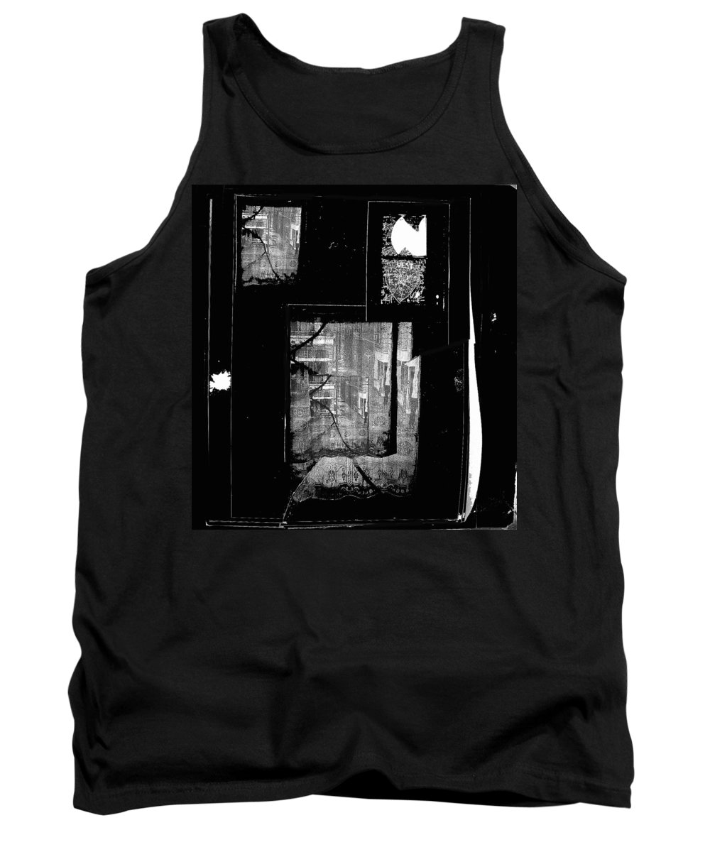 Film Noir Signe Hasso Lloyd Nolan House On 92nd Street 1945 Collage Antlers Hotel Victor Co 1971-2010 Tank Top featuring the photograph Film Noir Signe Hasso Lloyd Nolan House On 92nd Street 1945 Collage Antlers Hotel Victor Co 1971-'10 by David Lee Guss
