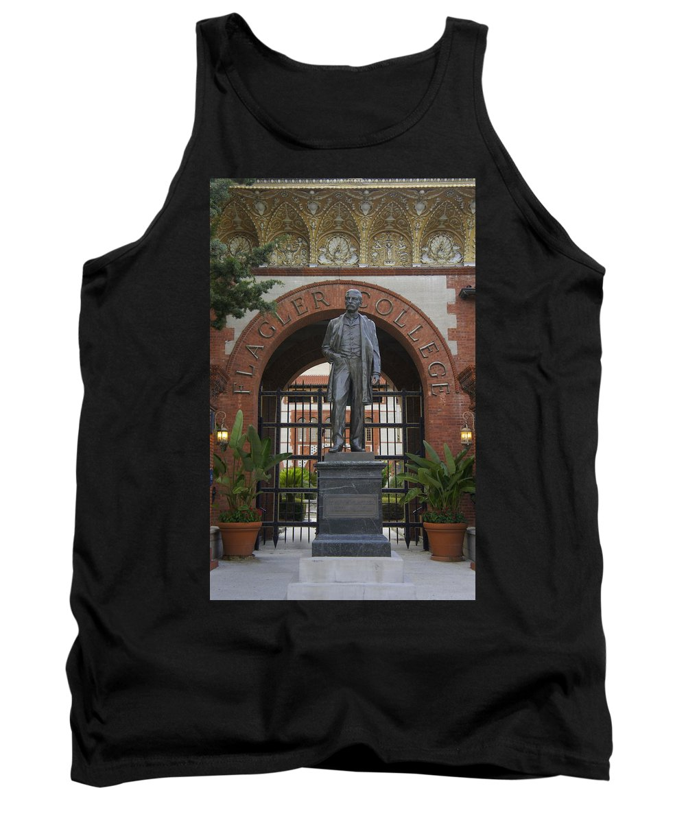 Flagler College Tank Top featuring the photograph Flagler by Laurie Perry