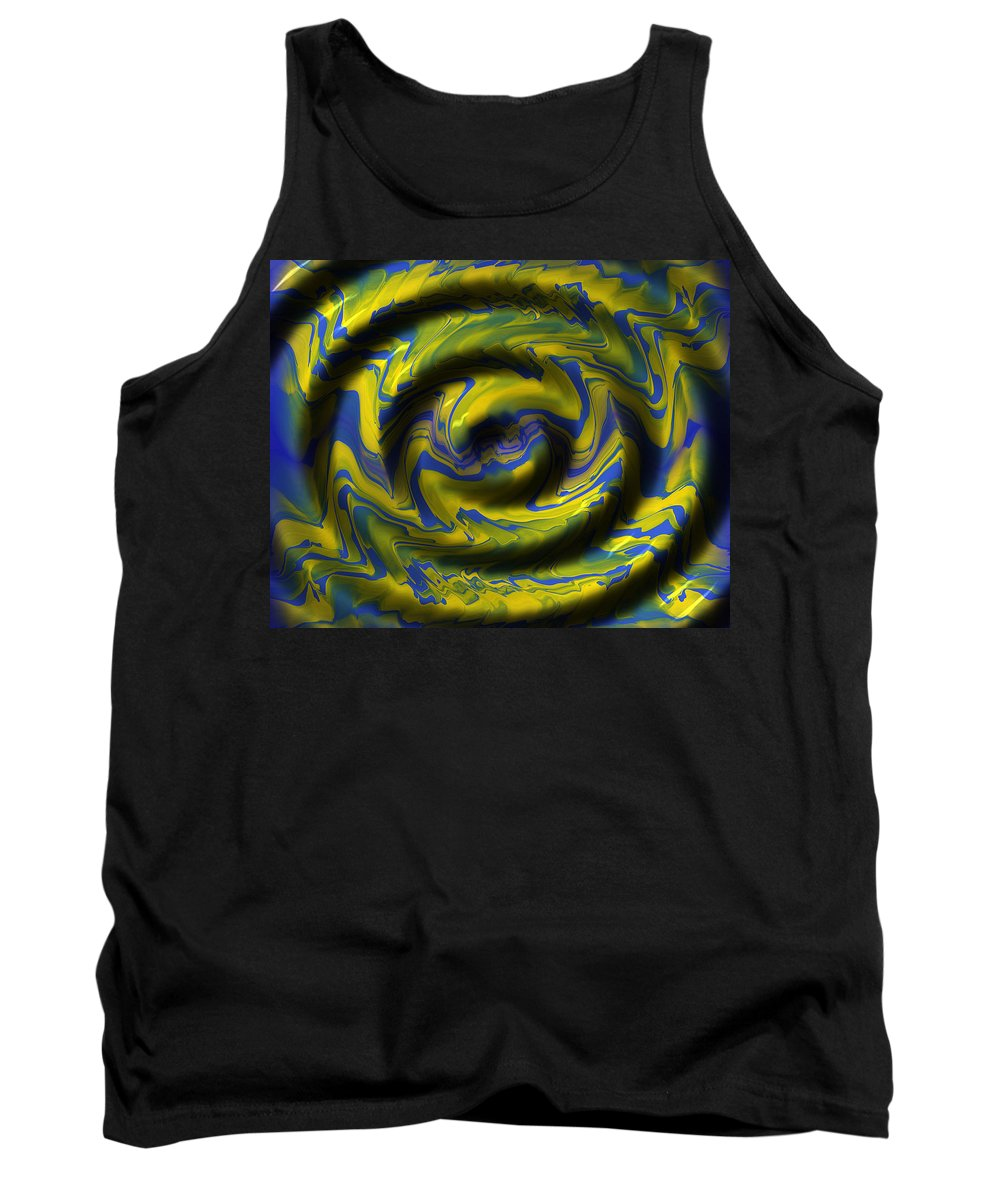 Original Tank Top featuring the painting Generations 4 by J D Owen
