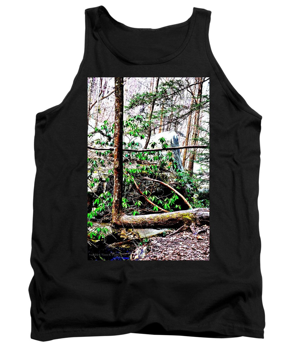 L Tank Top featuring the photograph L by Tara Potts