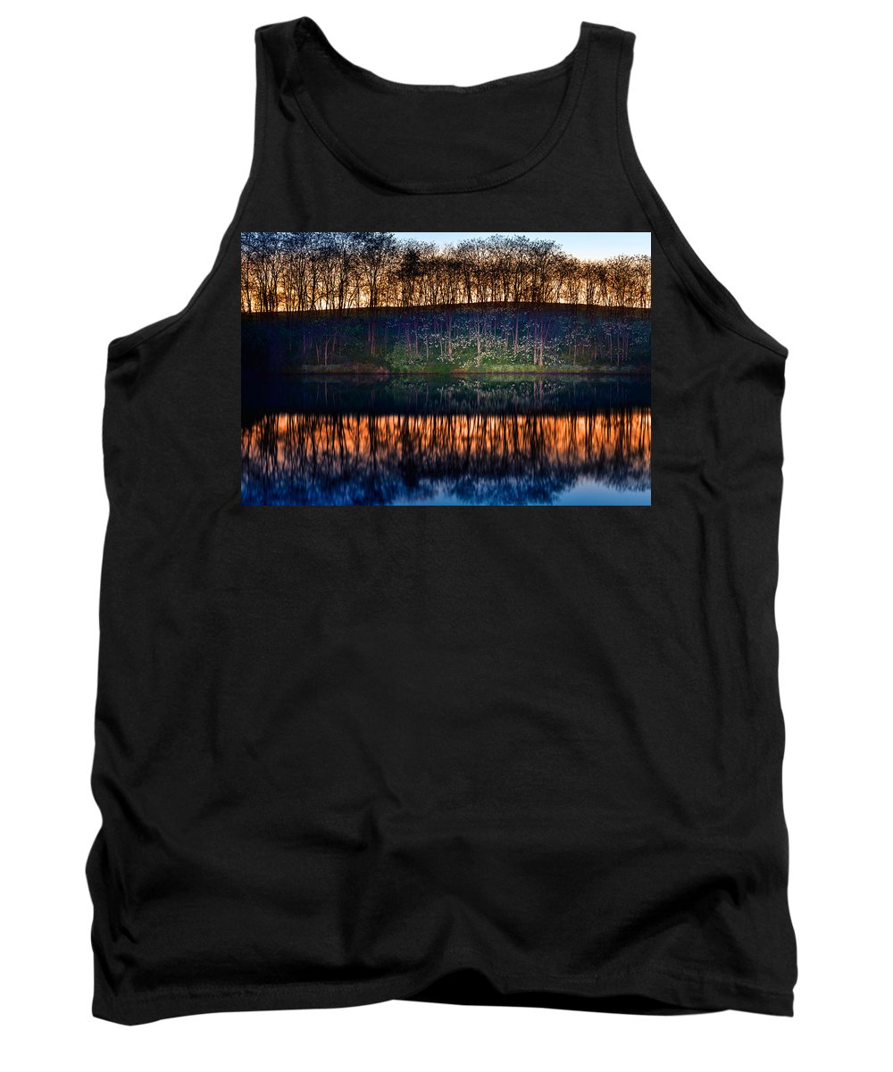 Lake Tank Top featuring the photograph Lake Shore by Alexey Stiop