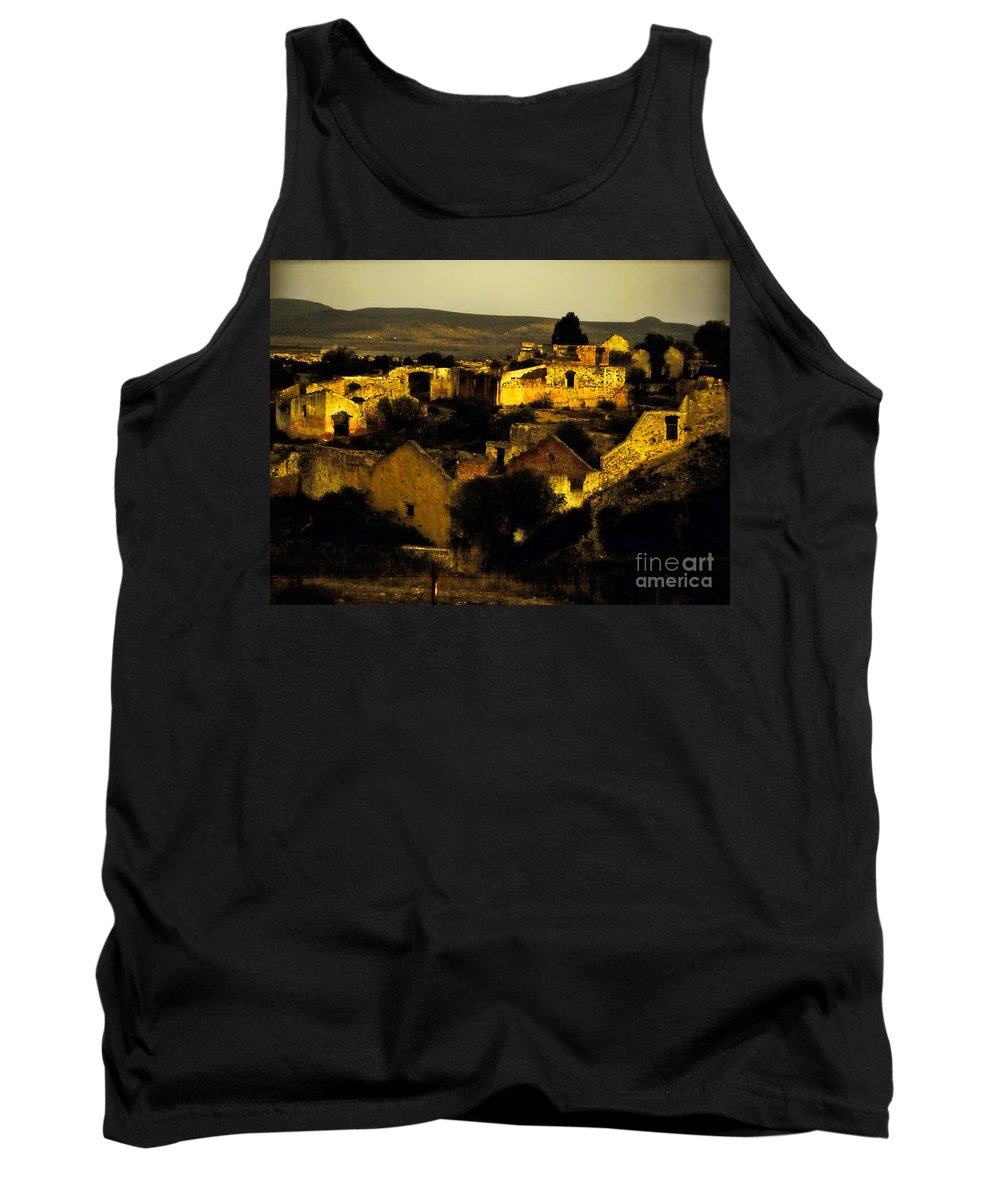 Tank Top featuring the photograph Mineral De Pozos by Karla Weber