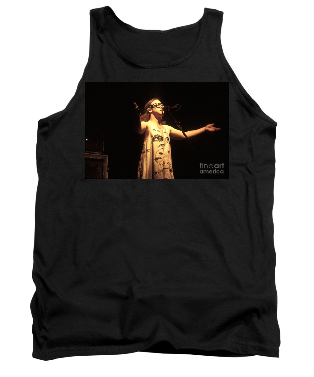 Percussion Tank Top featuring the photograph Phish by Concert Photos