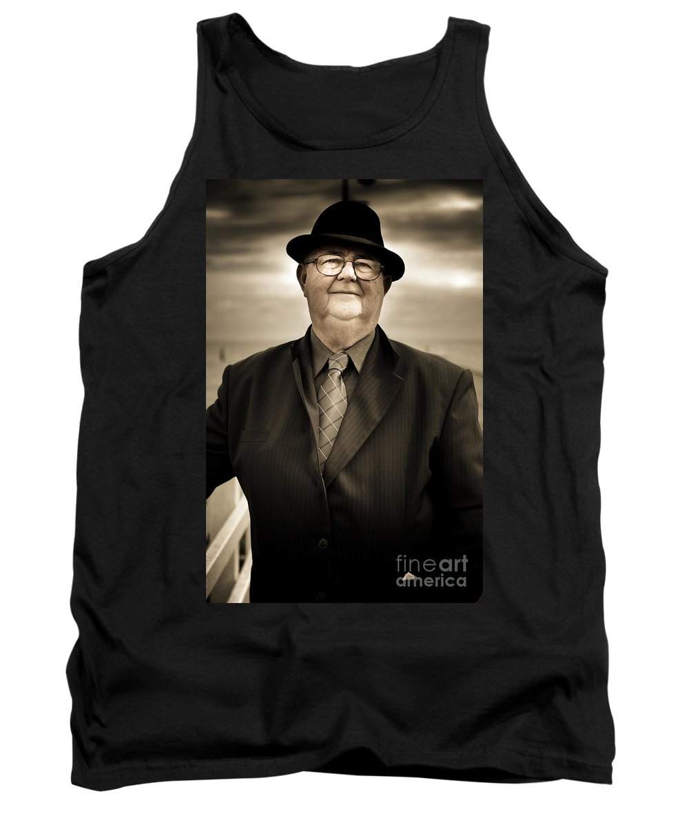 Male Tank Top featuring the photograph Reminiscing Days Bygone by Jorgo Photography - Wall Art Gallery