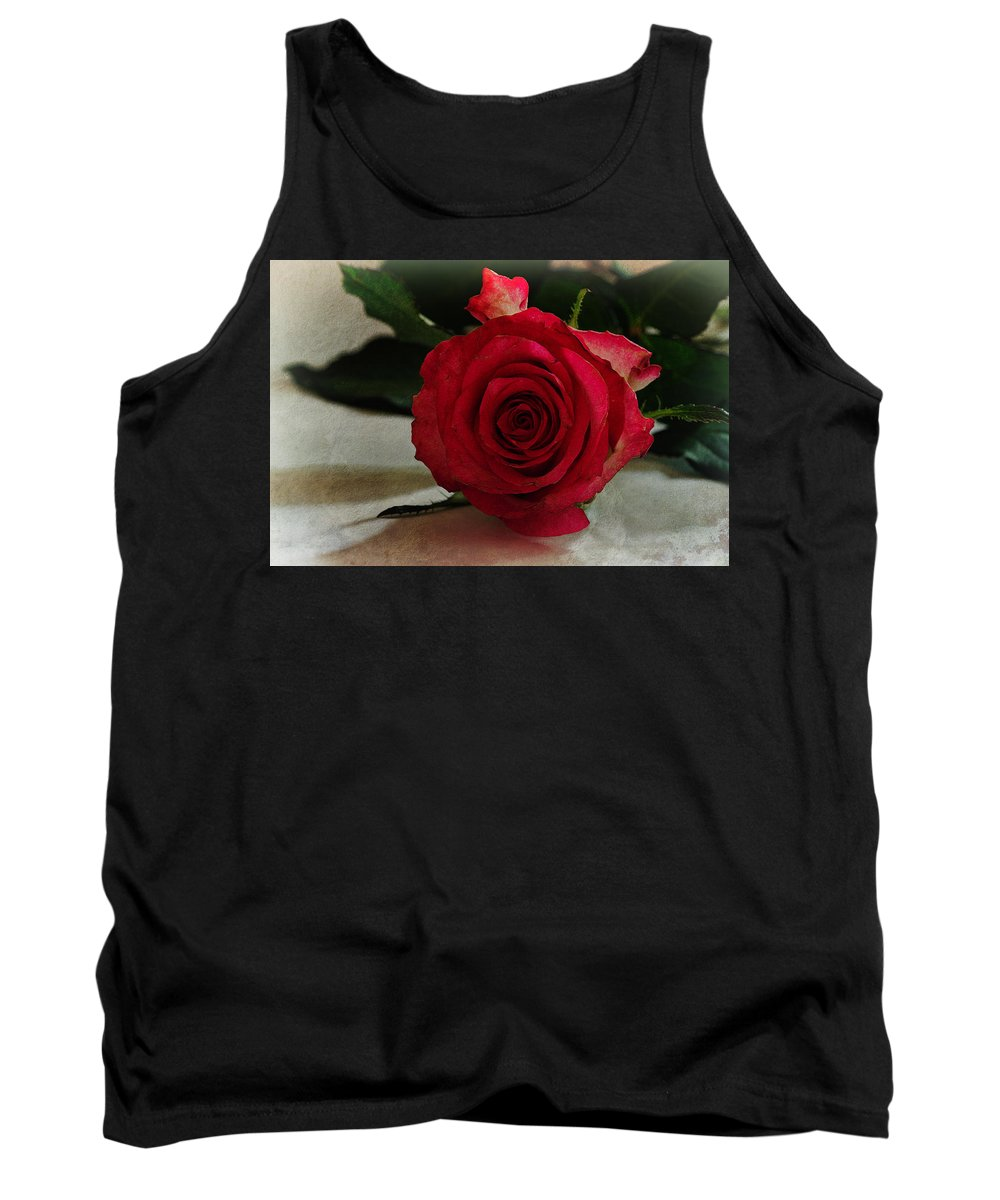 Rose Tank Top featuring the photograph Rose by David Pringle