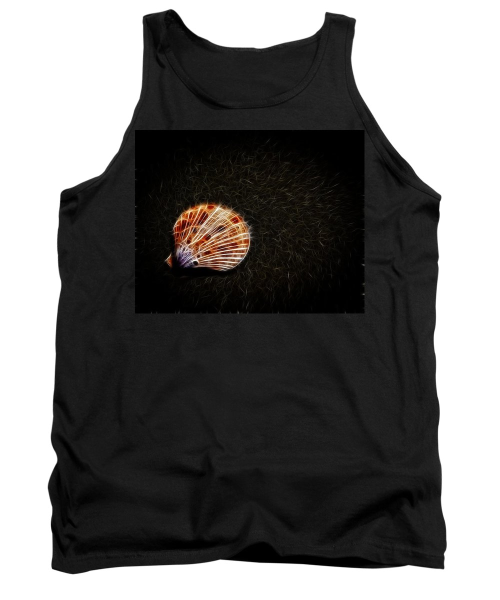 Sea Shell Tank Top featuring the photograph Sea Shell by Steve McKinzie
