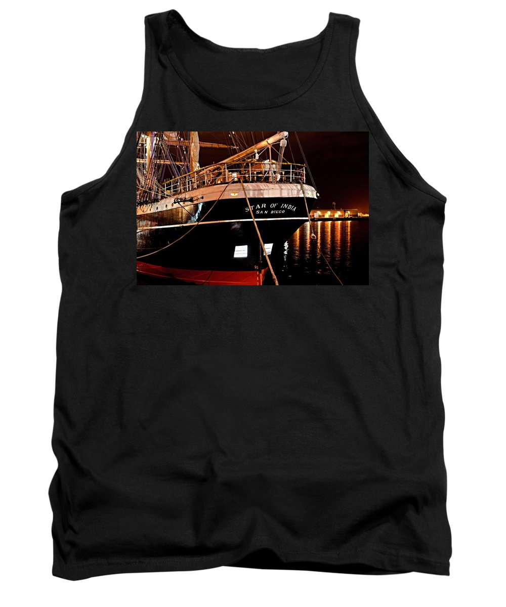 San Diego Tank Top featuring the photograph Star Of India by See My Photos