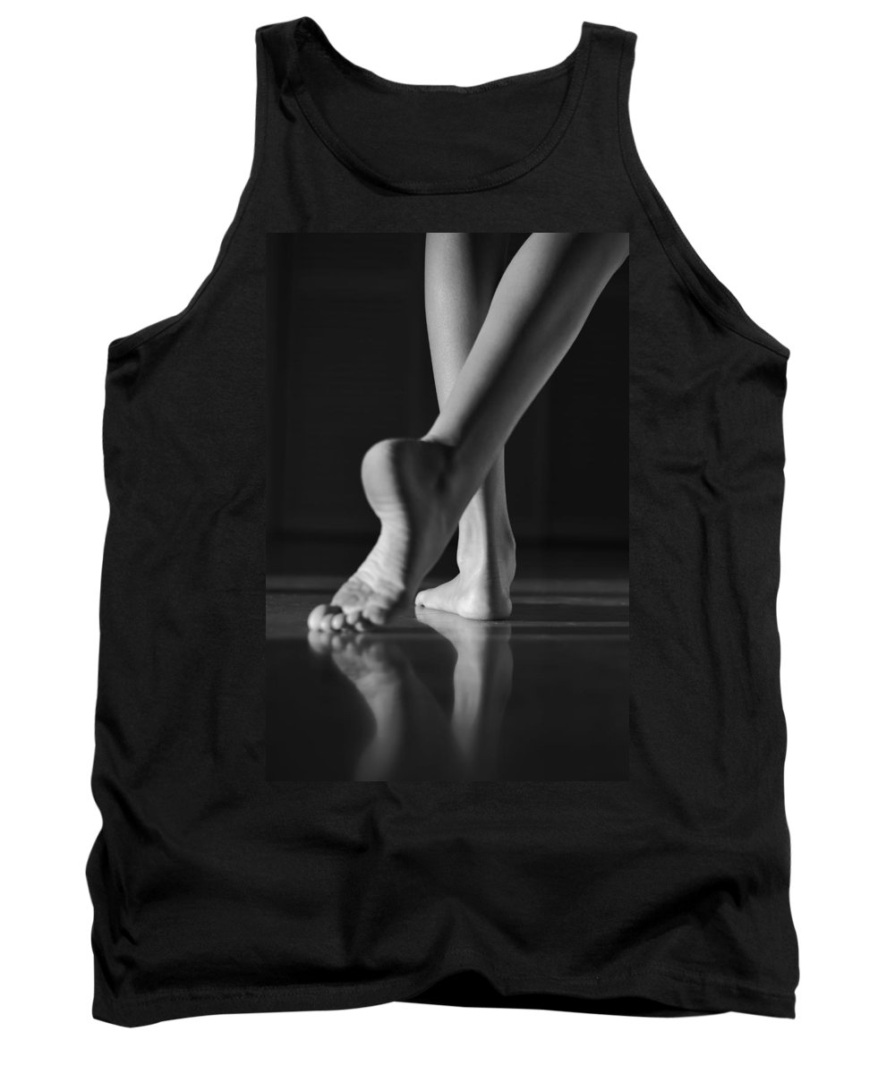 Bylaura Fasulo Tank Top featuring the photograph The Dance by Laura Fasulo