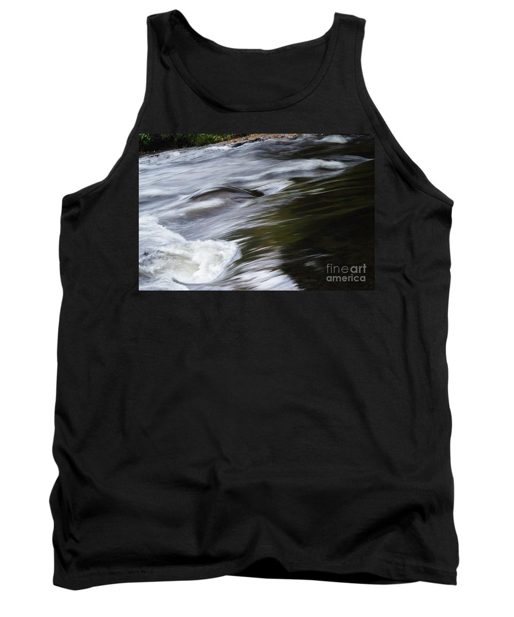 Rivers Tank Top featuring the photograph Top Of The Falls by Jeffery L Bowers