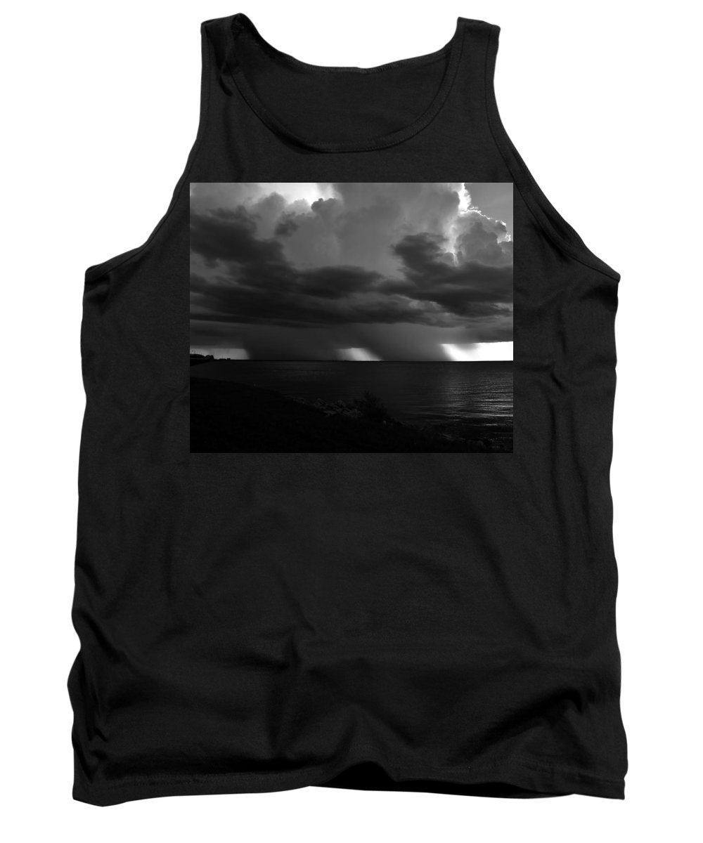Thunder Storm Tank Top featuring the photograph Tropical Twins by David Lee Thompson