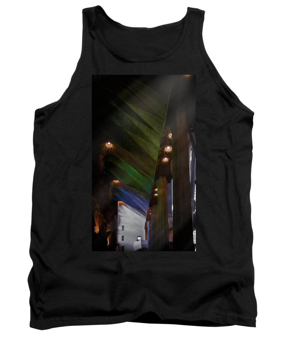 Sagrada Familia Tank Top featuring the photograph Untitled by Michele Mule'