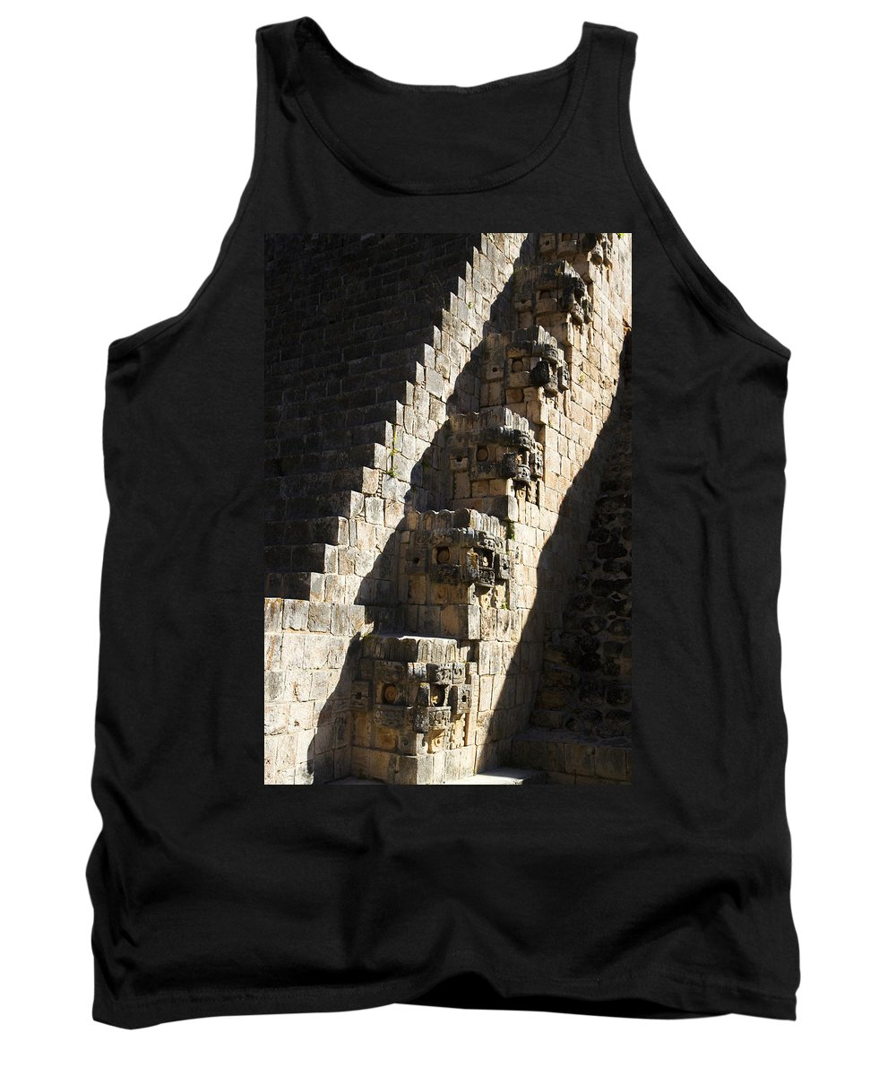 Ruta Puuc Tank Top featuring the photograph Uxmal Maya Ruins by For Ninety One Days