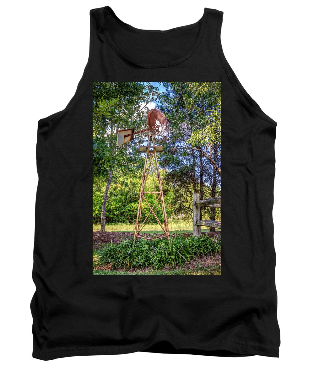 Windmill Tank Top featuring the photograph Warm Breeze by Rob Sellers
