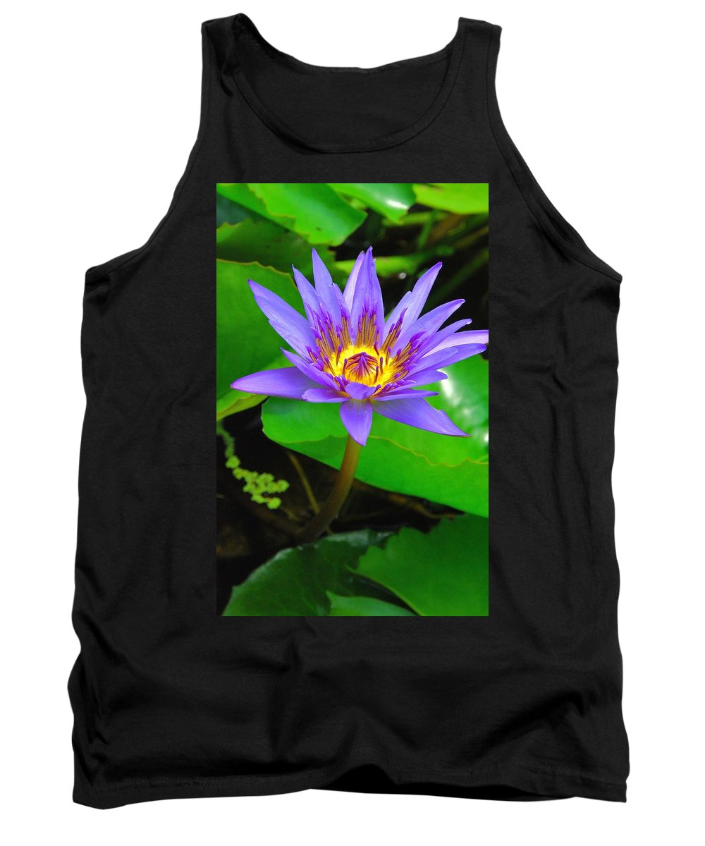 Water Lillies Tank Top featuring the photograph Water Lily 20 by Allen Beatty
