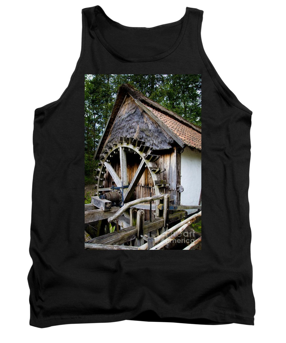 Old Watermill Tank Top featuring the photograph Watermill by Brothers Beerens