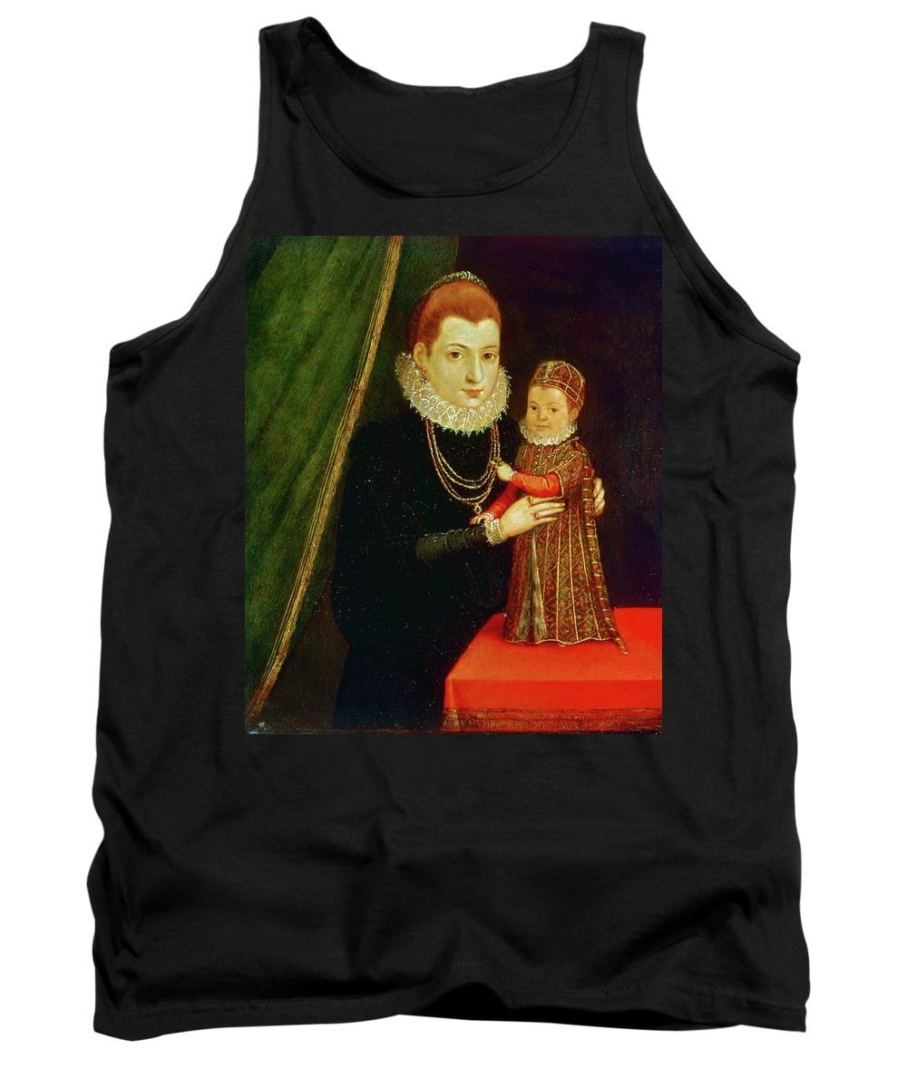 16th Century Tank Top featuring the painting Mary, Queen Of Scots (1542-1587) by Granger