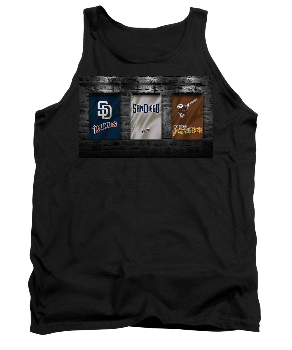 Padres Tank Top featuring the photograph San Diego Padres by Joe Hamilton